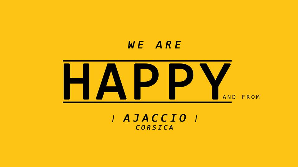 """We are happy and from Ajaccio"" : On peut encore s'inscrire !"