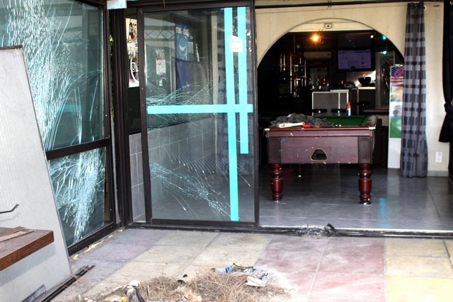 Attentat contre un snack-bar de Calvi