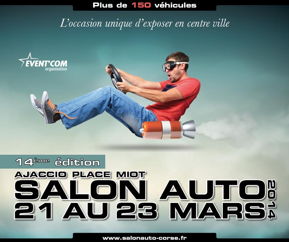 Ajaccio : Le 14eme salon de l'auto débute vendredi