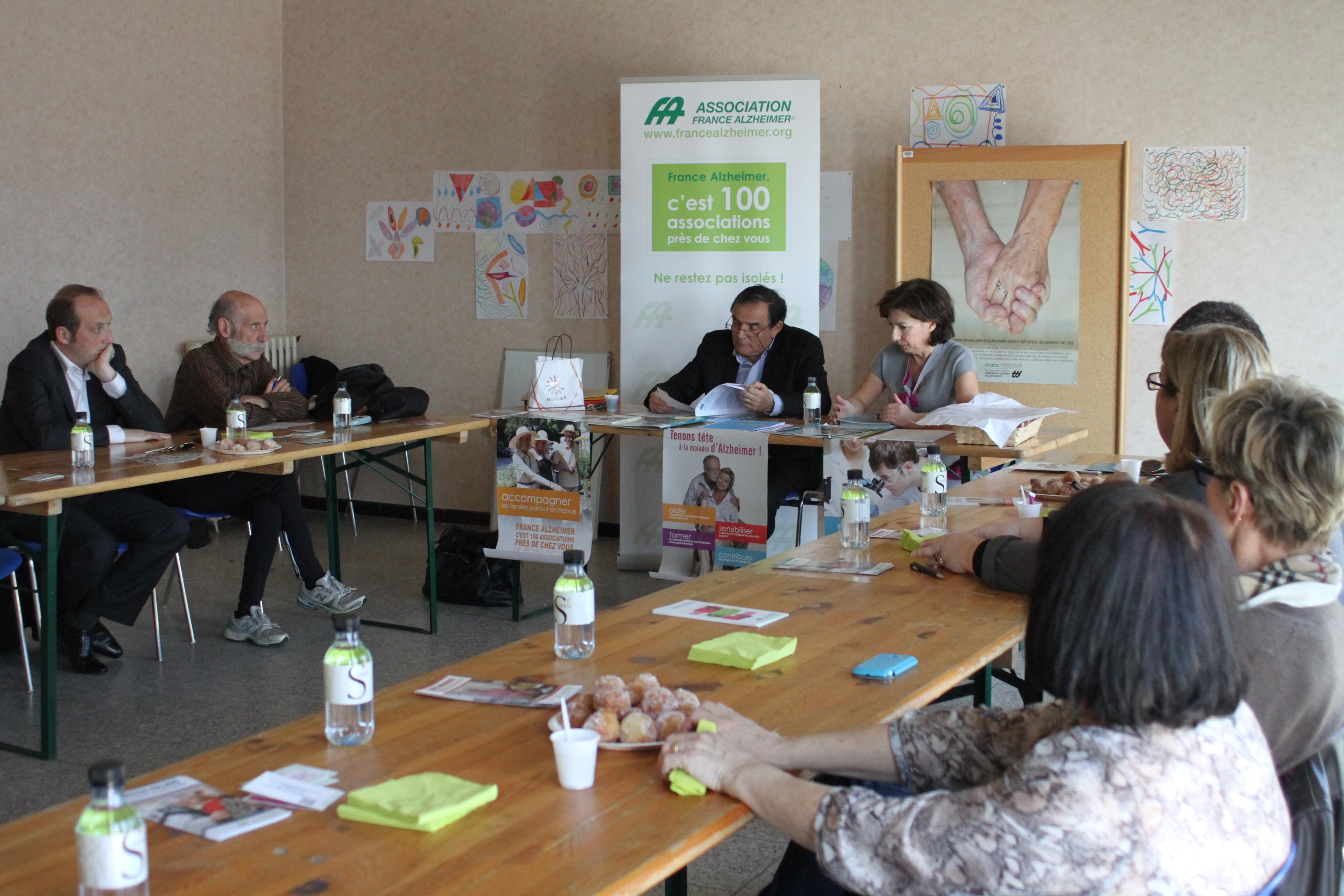 France Alzheimer de Corse-du-Sud : Une table ronde, un repas et un loto