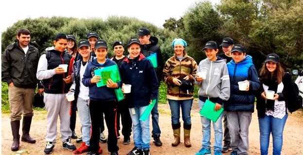 Sortie pédagogique avec les Jeunes Agriculteurs de Corse-du-Sud
