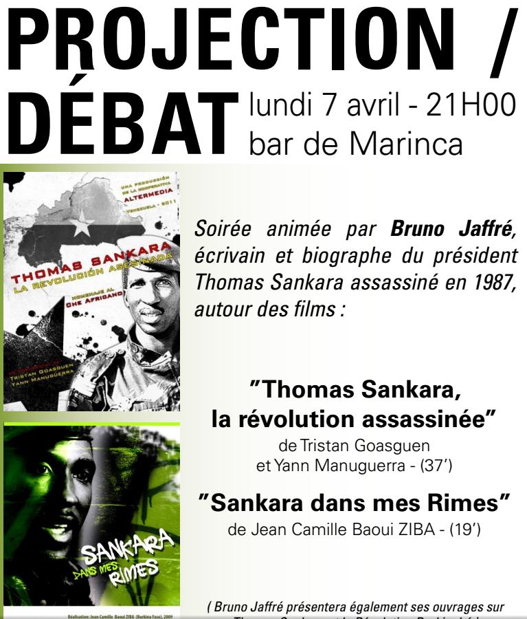 Per a pace reçoit Bruno Jaffré : La  vérité sur l'assassinat de Thomas Sankara  soit faite