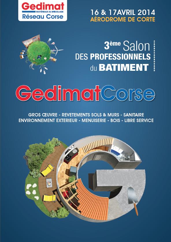 La 3ème édition du Salon des professionnels du Bâtiment de Corse à Corte