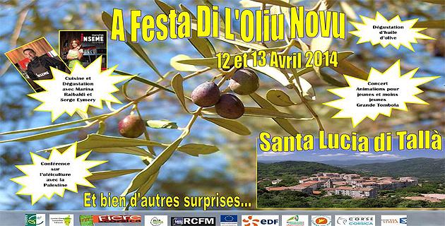 Santa Lucia di Tallà célèbre a Festa di  l'oliu novu