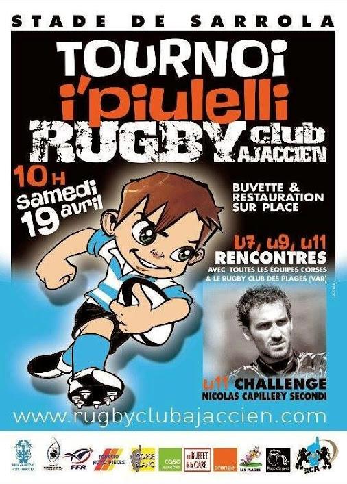 """L'association des diabétiques de Corse au tournoi de rugby """"I Puilelli"""" de Sarrola"""