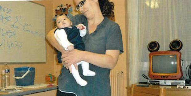 Miah, une petite fille âgée de 4 mois et demi a été enlevée par sa mère au centre maternel de Nancy. (DR)