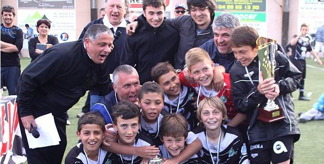 Le challenge Dominique Rutily aux U13 Elite du FC Calvi