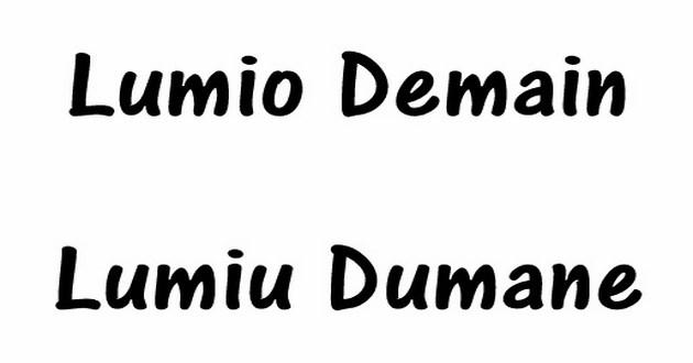 Lumio : Lumiu Dumane remercie et fait sa merendella