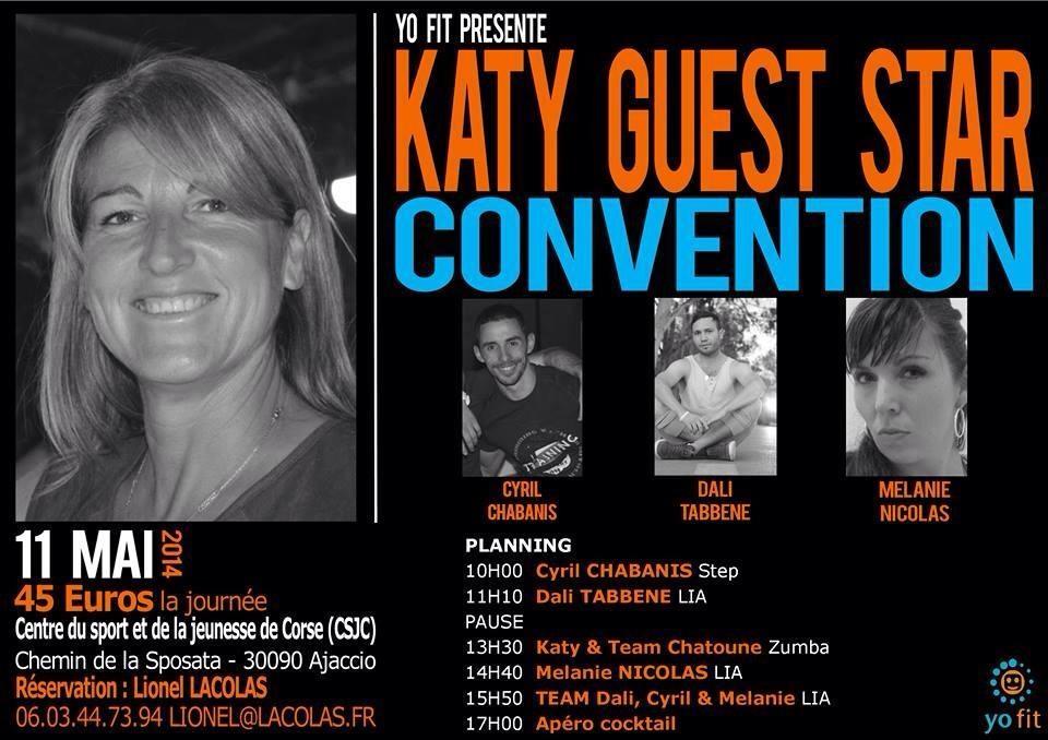 Convention free style Katy Gambini le 11 mai au CSJC d'ajaccio