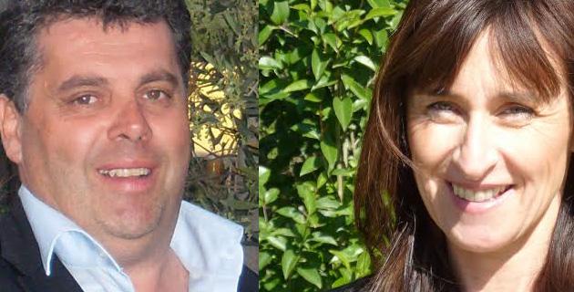 Christian Orsucci et Frédérique Praca