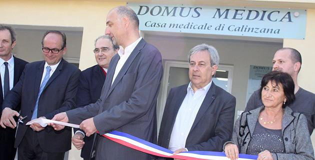 La première Casa médicale de Corse inaugurée à Calinzana