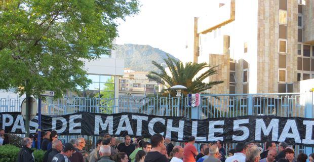 Collectif du 5 mai sans match : Une motion adoptée à Bastia et un rendez-vous avec le ministre