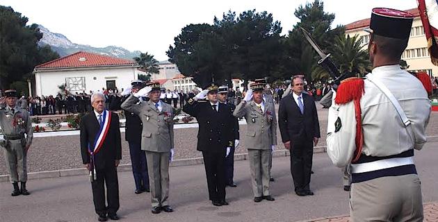 Le 151e anniversaire du combat de Camerone célébré au 2e REP de Calvi