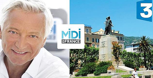 L'émission « Midi en France » s'installe sur la place Saint-Nicolas