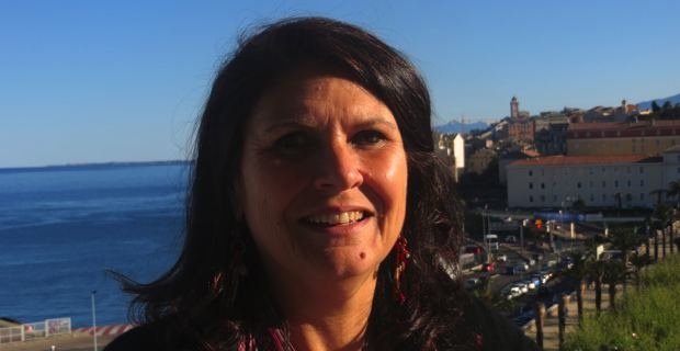 Mattea Lacave, Conseillère municipale, adjointe à la culture, également Conseillère territoriale du groupe Femu a Corsica.