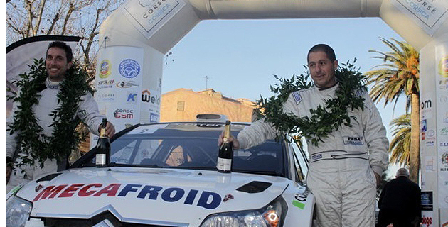 Pascal Trojani (à droite) : Un habitué des podiums.