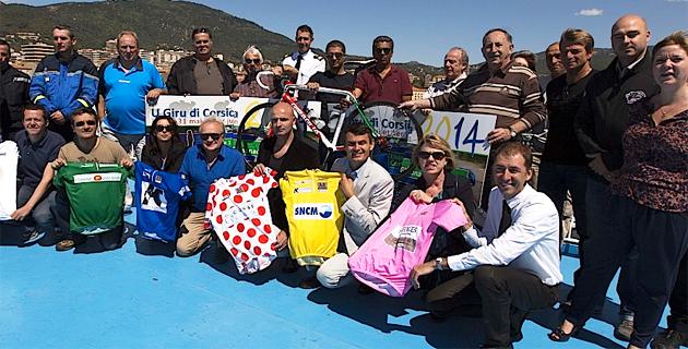 U Giru di Corsica 2014 a pris le départ jeudi matin à Ajaccio à bord du Jean-Nicoli de la SNCM