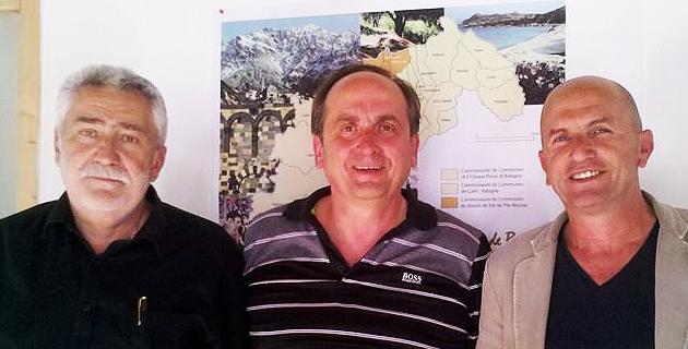 Paul Lions, Pierre Guidoni et Attilius Ceccaldi