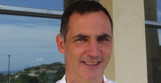 Gilles Simeoni, maire de Bastia et 2ème vice-président de l'association des maires de Haute-Corse.