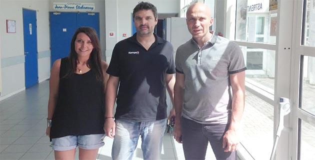 Sabrina Aitelli, Eric Pasero et Jean-Luc Luciani.