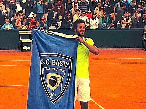 """Laurent Lokoli-Rioli au 3e tour des """"qualifs"""" de Roland Garros"""