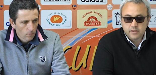 Thierry Laurey à gauche  et Olivier Miniconi : Mission accomplie