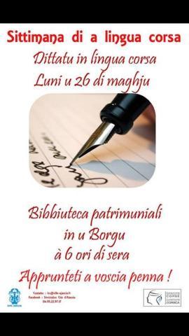 Ajaccio : La troisième édition de la langue corse commence