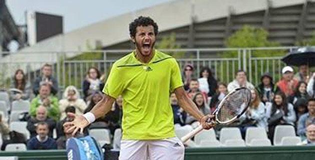Roland-Garros : Tous derrière Laurent Lokoli qui affronte l'Américain Steve Johnson