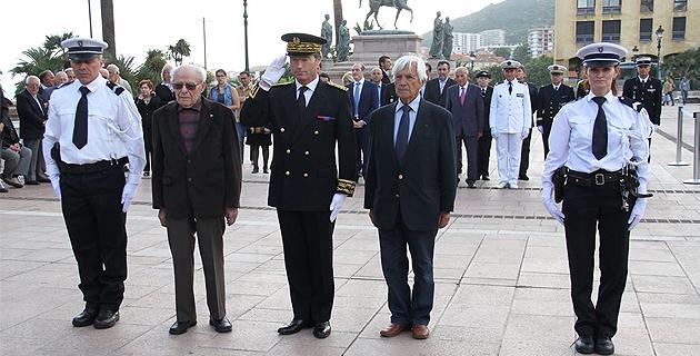 Résistance : La première Journée nationale commémorée à Ajaccio