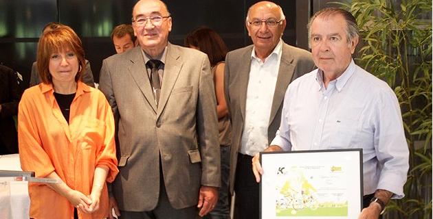 """Le """"Coup de cœur"""" du jury des villes et villages fleuris à Calvi"""