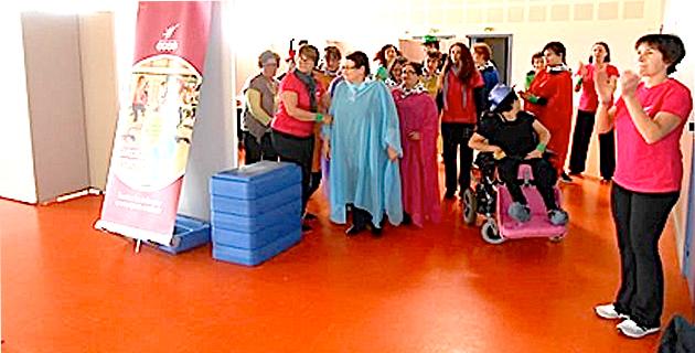 Afa : Gymnastique volontaire  et handicap