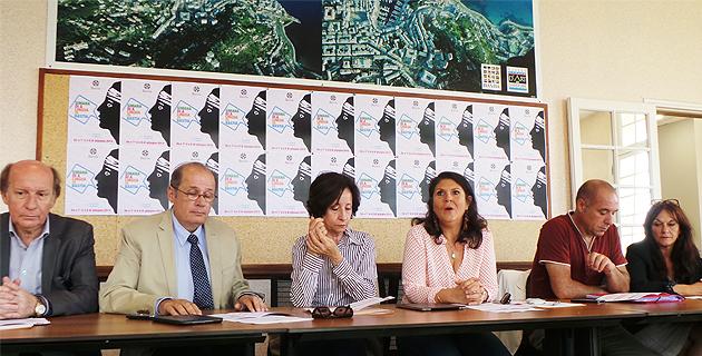 Les élus bastiais autour de Mattea Lacave