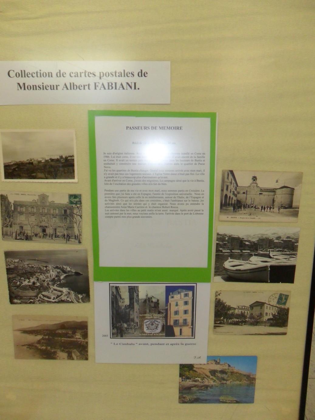 """Bastia : Exposition """"Passeurs de mémoire"""" à la bibliothèque centrale"""