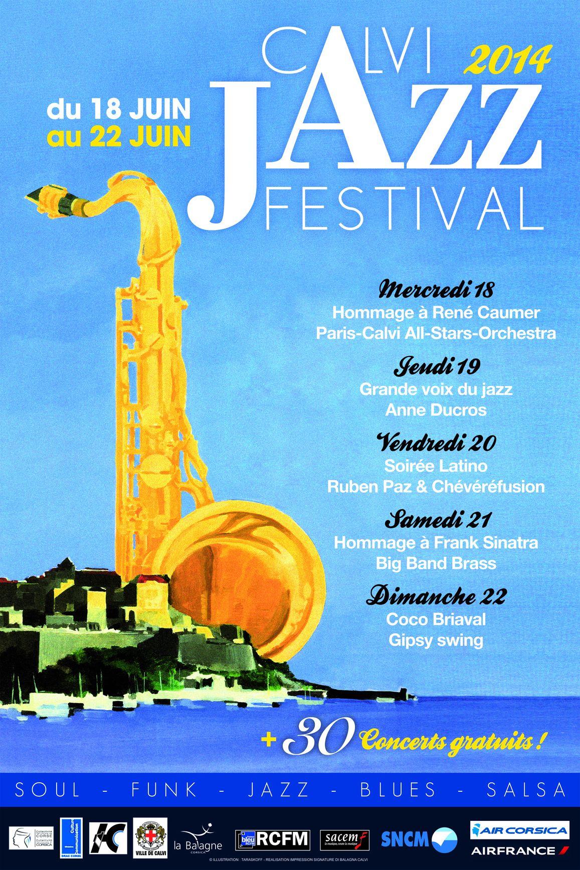 Le Calvi Jazz Festival rend hommage à son père fondateur René Caumer