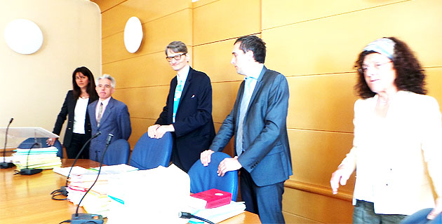 Le tribunal présidé par Guillaume Mulsant