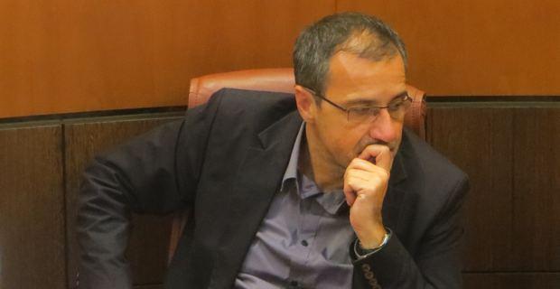 Jean-Guy Talamoni, président du groupe Corsica Libera à l'Assemblée de Corse.