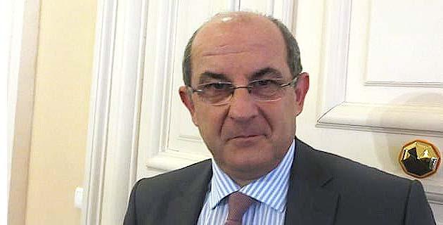 Pierre Chaubon, président de la Commission des compétences législatives et règlementaires de l'Assemblée de Corse.