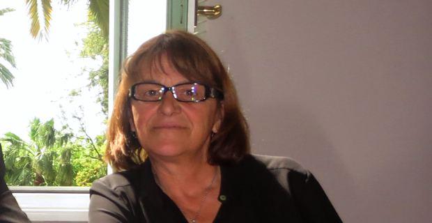 Benoite Martelli, élue balanine du groupe Corse Social Démocrate à l'Assemblée de Corse.