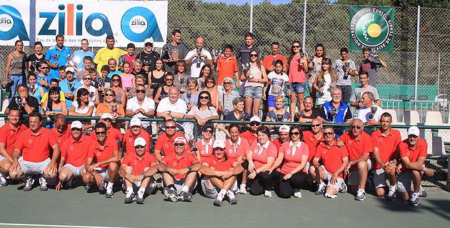 Cérémonie protocolaire des XXVIIIèmes championnats de Corse de tennis