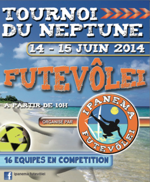 Grand tournoi de Foot-Volley 2X2 sur la  plage du Neptune d'Ajaccio