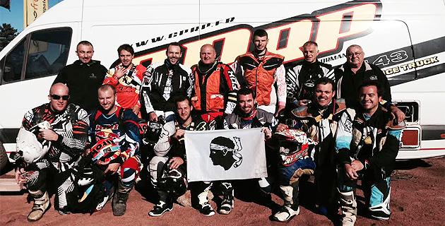 Moto-enduro : Les pilotes corses au Trèfle Lozérien