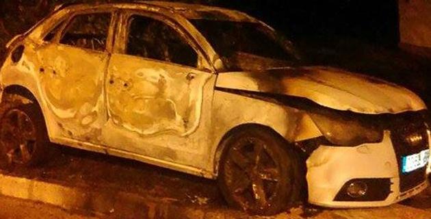 Ajaccio : Une voiture incendiée aux Salines