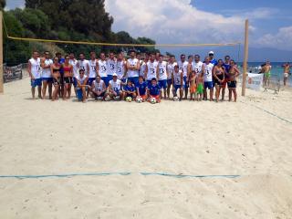 La plage du Neptune retrouve ses tournois de Foot-volley
