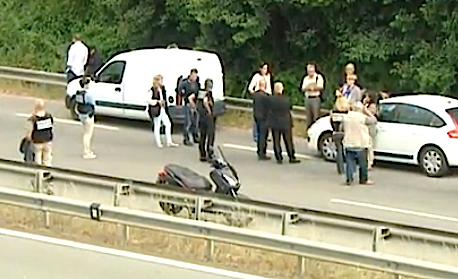 Ajaccio : Reconstitution de la tentative d'assassinat contre Alain Lucchini