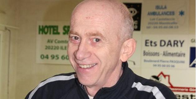 Dr Jean-Louis Guidoni, président du Squash Loisirs Ile-Rousse