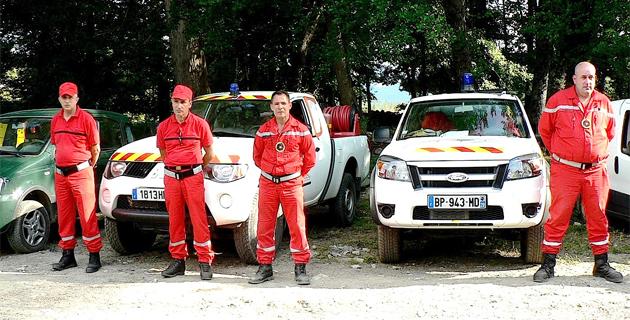 Les réservistes communaux prêts à défendre leur territoire contre l'incendie !