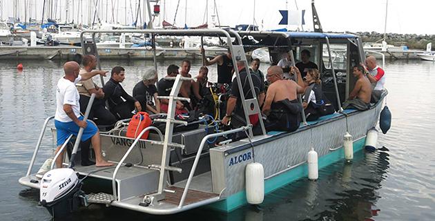 Plongée : Essai de la gamme de phares Azuru Diving
