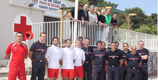 Calvi : Lancement de la campagne de surveillance des plages de Haute-Corse