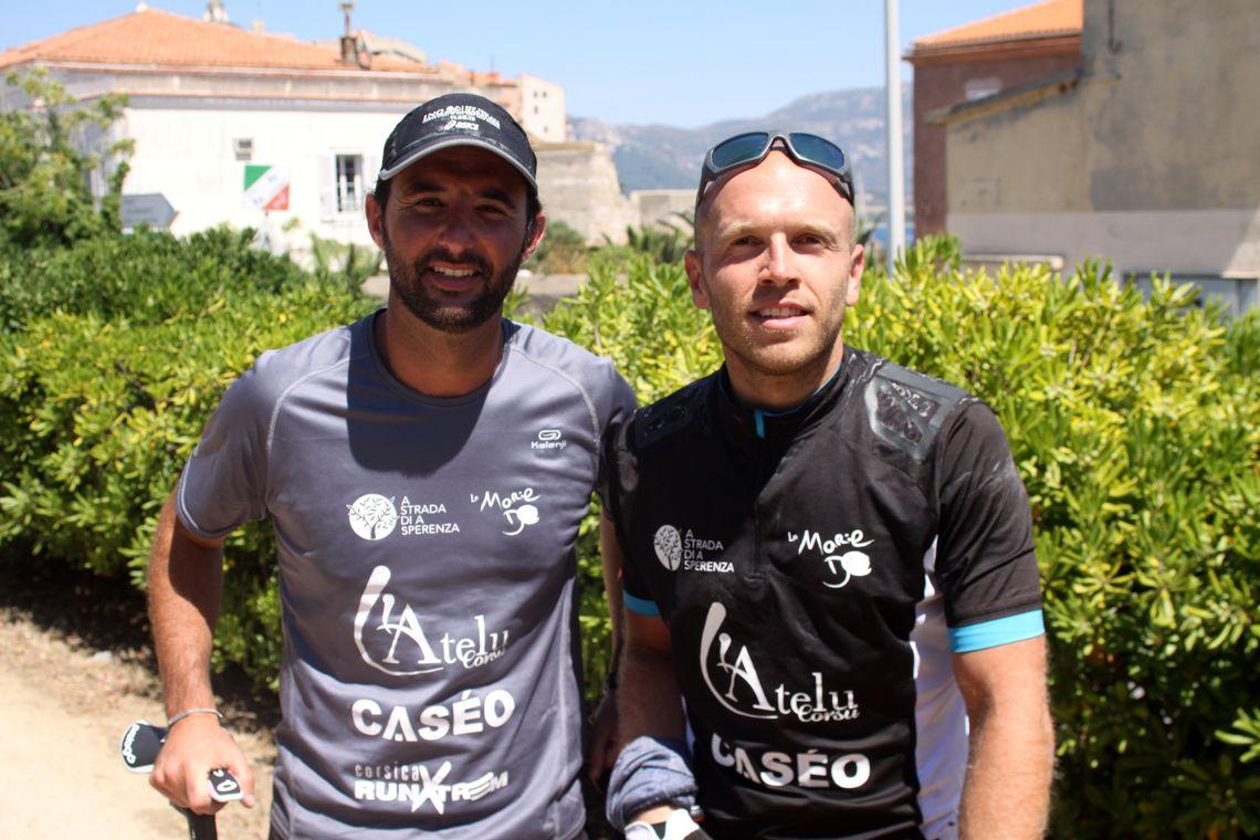 A Strada di a sperenza passe par Calvi pour Olivier Piglioni et Jacques Secondi
