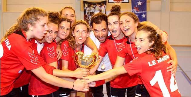 Les finales de coupe de Corse de handball au complexe sportif de Calvi-Balagne